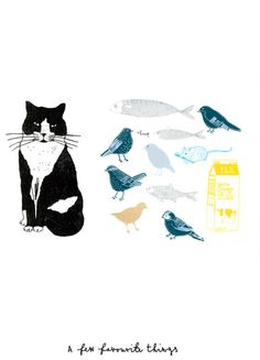 Illustration by Charlotte Farmer: A few favourite things