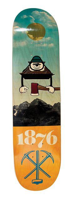 Bordo Bello Deck: Colorado St. Seal by @chris streger
