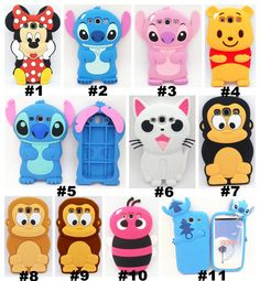 3d cute #cartoon soft silicone #rubber case cover skin for samsung #galaxy s3 i93,  View more on the LINK: http://www.zeppy.io/product/gb/2/131419082023/