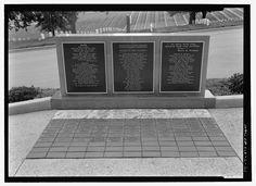 CARILLON MEMORIAL TABLETS AND DONOR BRICK PAVERS. VIEW TO NORTH. - Leavenworth National Cemetery, 150 Muncie Road, Leavenworth, Leavenworth County, KS
