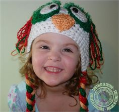 """Crochet Baby Hats Baby Owl Hat Owl Crochet by SweetnessInSmyrna, $28.99 (and my granddaughter """"The Ham"""" modeling!)"""