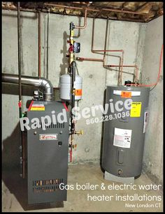 A gas or oil boiler has an expected life time that spans about 12-25 ...