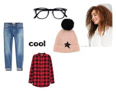 """""""Untitled #19"""" by flawsome32 ❤ liked on Polyvore featuring Violeta by Mango, Frame and H&M"""