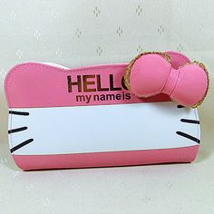 Hello My Name Is Hello Kitty Wallet