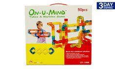 Get 25% #discount on On-U-Mind 12 x 13 inches 50-Piece Tubes and Marbles Games #cashcashpinoy #kids #onlinedeals