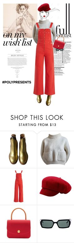 """#PolyPresents: Wish List"" by onemorepose ❤ liked on Polyvore featuring Alaïa, AlexaChung, Mansur Gavriel, Chanel, Behance, contestentry and polyPresents"