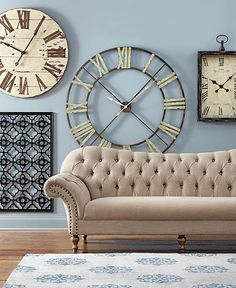 Longer Days Mean More Time For Decorating. For An Update That Takes Very  Little Time, Add A New Wall Clock. Itu0027ll Make Counting The Minutes Until  Spring ...