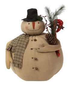 Take a look at this Marty the Snowman Plush Figurine by Collins on #zulily today!