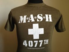 80s Vintage MASH 4077th 1983 tv movie TShirt  MEDIUM by PartyNaked, $22.50