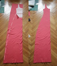 Pearls & Scissors: Simple summer jersey maxi dress (DIY)