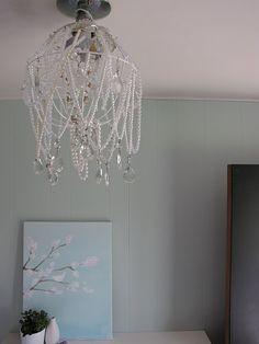Diy chandelier using transparent pvc tube as main rings diy diy chandelier wedding ideas pinterest aloadofball Gallery