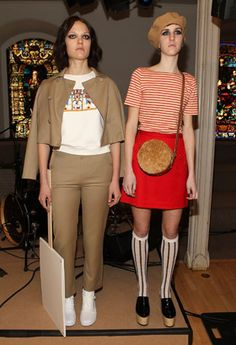 Chloe Sevigny for Opening Ceremony - New York Fashion Week AW13: Show Report