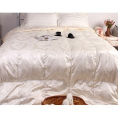 Quality quilts are designed to last, absorbing the luxurious comfort and warmth that only goose down comforter can provide. With proper care and Red Bottom Shoes, Making Glass, Down Comforter, Luxury Bedding Sets, Red Bottoms, Cabinet Knobs, Comforters, Cleaning, Herve Leger