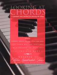 Looking At Chords Piano Instruction Book: Chords - Where To Use Them And Why. Left-Hand Rhythm Patterns. Transposing - An Easy Way. Fill - Ins and More. $18.00