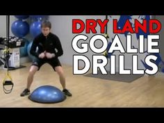 Dryland Goalie Drills That Translate Onto The Ice. - YouTube