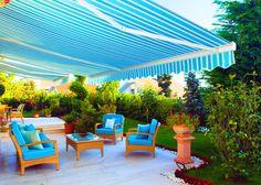 Posebna inovativnost upotrebe tendi ogleda se u mogućnosti maksimalnog iskorišćenja otvorenog prostora, balkona, terase ili bašte u različitim vremenskim prilikama.