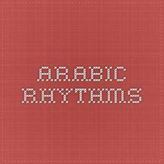 Arabic Rhythms