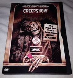 Creepshow DVD George A. Romero Stephen King Macabre Comic Book Of A Movie 1999    eBay