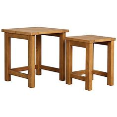 George Home Luthor Nest of Tables - Pine   Home & Garden   George at ASDA