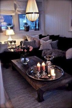 Rustikal einrichten  Das Wohnzimmer rustikal einrichten - ist der Landhausstil angesagt ...