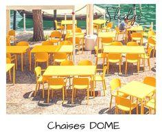 mobilier de cafés restaurant chaises et tables métal pour terrasse ... - Chaise De Terrasse Pour Restaurant
