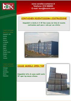 Container nuovi e usati + Container speciali + Casse mobili usate ...