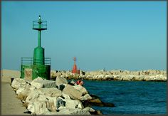I fari di Giulianova, Abruzzo. #faro #lighthouse #Adriatico #marAdriatico