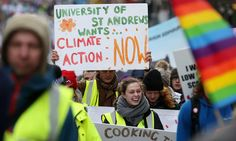 2020 target of cut reached earlier than expected, but climate campaigners sceptical about government's role Market Failure, Edinburgh City Centre, Paris Climate, Climate Action, Social Issues, Global Warming, Worlds Of Fun, Climate Change, Vows