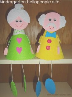 grandparents day crafts for preschoolers Seniors Week Art Events Cup Crafts, Diy And Crafts, Arts And Crafts, Paper Crafts, Bible Crafts For Kids, Toddler Crafts, Art For Kids, Grandparents Day Crafts, Fathers Day Crafts