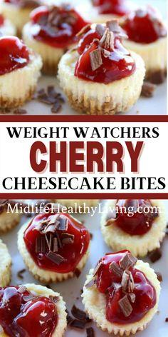 Weight Watchers Cheesecake, Weight Watcher Dinners, Weight Watchers Desserts, Ww Desserts, Dessert Recipes, Delicious Desserts, Healthy Cheesecake Recipes, Holiday Desserts, Ww Recipes