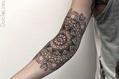 Tattoo im Maori-Stil - Full Sleeve Ideen für Frauen