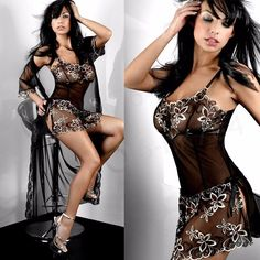 aeefd0ee5 lingerie nightwear Picture - More Detailed Picture about Women Plus Size  Lingerie M 5xl 6xl Lace Flower Embroidery Sexy Lingerie Nightwear Nightdress  Women ...