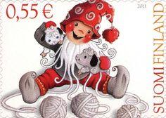 Joulupostimerkki 2011 1/3 - Pehmeä joulu