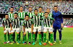 EQUIPOS DE FÚTBOL: REAL BETIS BALOMPIÉ contra Deportivo de La Coruña 26/08/2016