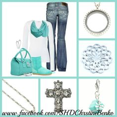 A South Hill Designs locket to go with that Tiffany blue. www.facebook.com/SHDChristineBenko