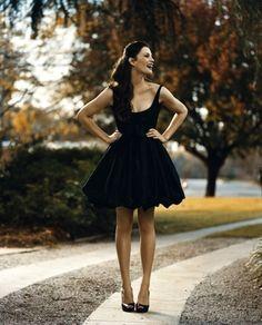I'm always a fan of a little black dress!
