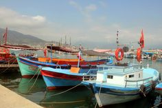 Alanya harbour, Alanya, Turkey