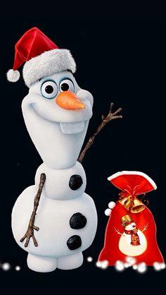 Christmas for Olaf Frozen Snowman, Olaf Snowman, Olaf Frozen, Disney Merry Christmas, Kids Christmas, Christmas Crafts, Christmas Ornaments, Frozen Christmas, Merry Christmas Wallpaper