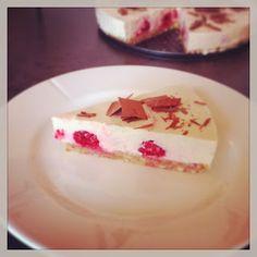 Lykkes Lækkerier:  Cheesecake med citron og hindbær