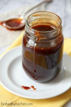 Brown Sugar Barbecue Sauce Recipe from bakedbyrachel.com