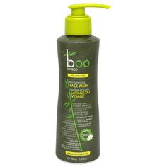 Enjoy Boo Bamboo Face Wash - Skin Balancing - fl oz every day at these amazing prices! Enriched with Organic Bamboo extract to gently cleanse and smooth yo Bamboo Care, Best Face Wash, Natural Sunscreen, Face Lotion, Vitis Vinifera, Best Face Products, Natural Skin