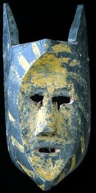 Tarahumara mask, Chihuahua, Mexico
