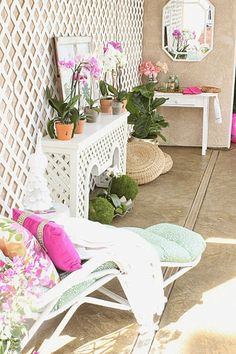 A Conservatory-Inspired Patio from Decorating Delirium