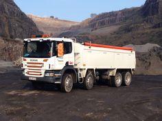 Scania tipper at machen quarry, South Wales Dump Trucks, Cool Trucks, South Wales, Transportation, Vehicles, Trucks, Dump Trailers, Car, Garbage Truck