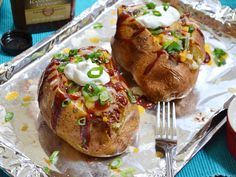 bbq beef stuffed potatoes - Budget Bytes Great website for inexpensive meals and NAAN.