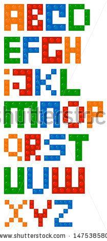lego lettering