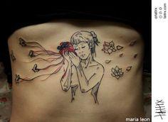 María León Tattoo | Santiago Chile | tattrx