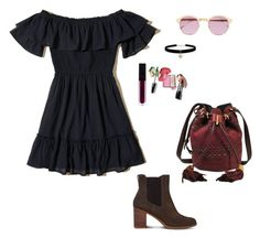 """""""Untitled #202"""" by camibg on Polyvore featuring Hollister Co., See by Chloé, Timberland, Sheriff&Cherry and Betsey Johnson"""