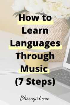 Today I wanted to share with you some strategies or activities you can do to learn and practice vocabulary and sentences patterns in your target language, using music. German Language Learning, Language Study, Learning Spanish, Teaching English, Spanish Activities, Learning Italian, Teaching French, Foreign Language Teaching, Learning A Second Language