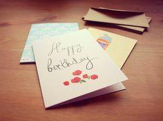 Pack de tarjetas + sobres kraft varias ocasiones #ilustración #LaTiendaDeDibus by Laura Minimalia